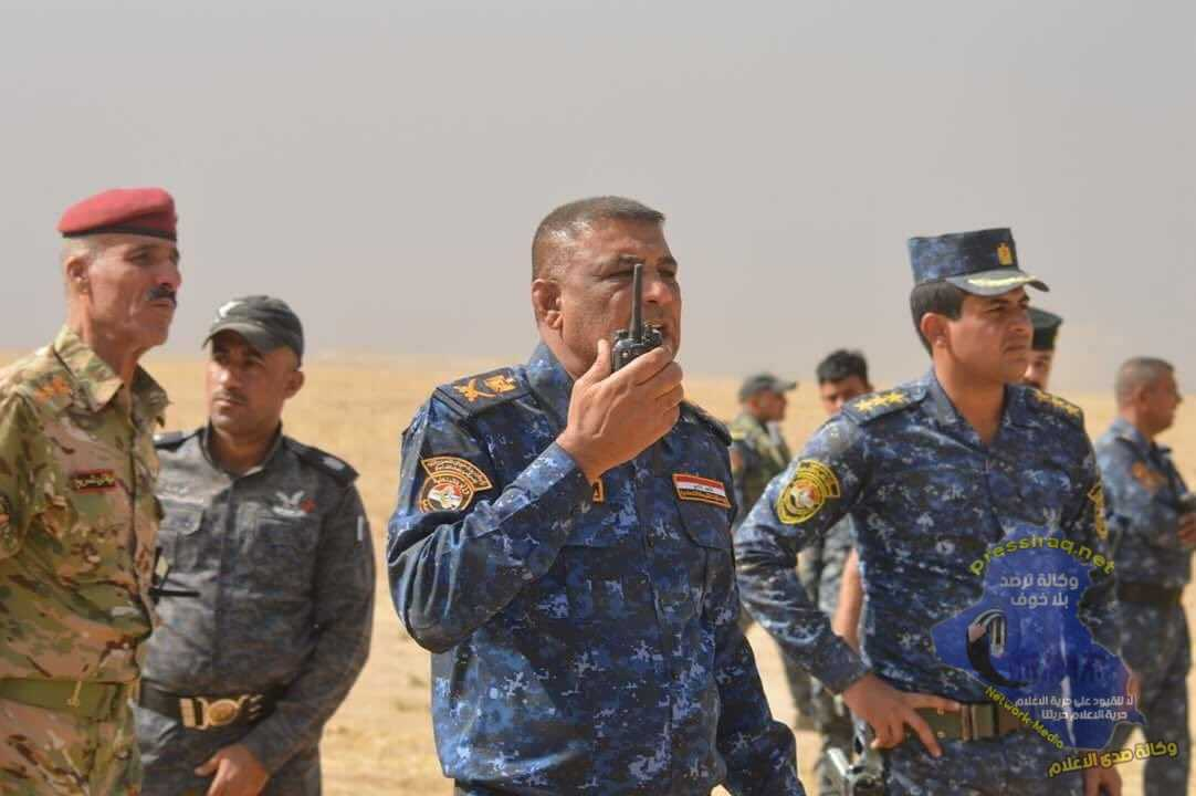Federal police announce liberation of more than 300 square km in the southern hub for Mosul